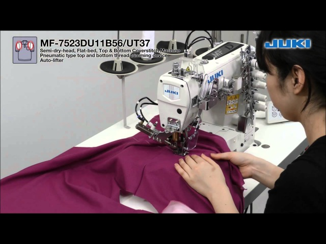 JUKI Polo Shirt Production