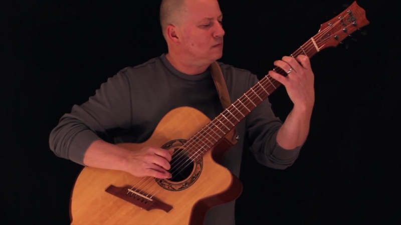 Spencer Elliott Carousel Acoustic Guitar