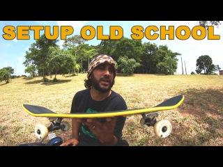 Montando um Skate Old School Informação Sobre Abec Truck Mid + Reflexão