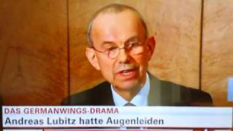Die GERMANWINGS-VERSCHWÖRUNG bestätigt! KEIN Massenmord durch den Co-Piloten Andreas Lubitz