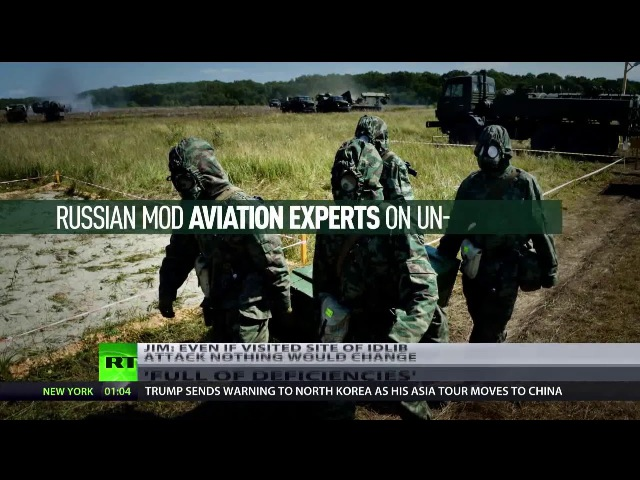 Russland UN-Bericht zu Giftgasangriff in Syrien voller Mängel