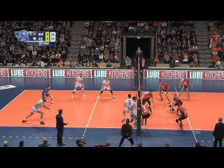 2017 CLVolleyM - 4th Round Leg 1 - BERLIN Recycling Volleys vs Cucine Lube CIVITANOVA