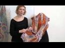 Мария Гладченко Создание палантинов Выступление на Лаборатории