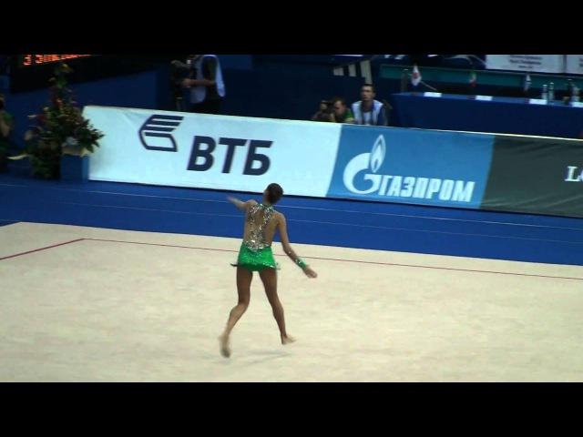 Kanaeva Evgeniya, hoop. Russia. RG WC 2010