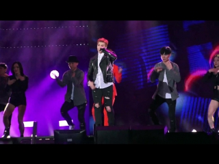 유키스 u-kiss (eli) feat. baek z young my ears candy @ mucon live asia music network big concert