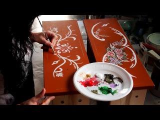 Видео уроки по декоративной живописи и росписи- Сделайте свой дом красочным))
