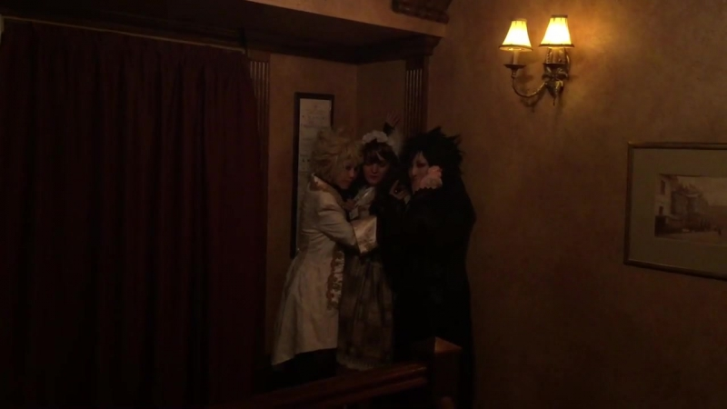 Kabedon Triple*Fortune GothicLolita Teaparty 2017