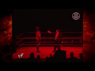 Kane and  Paul Bearer Mock The Undertaker Raw 01.19.1998