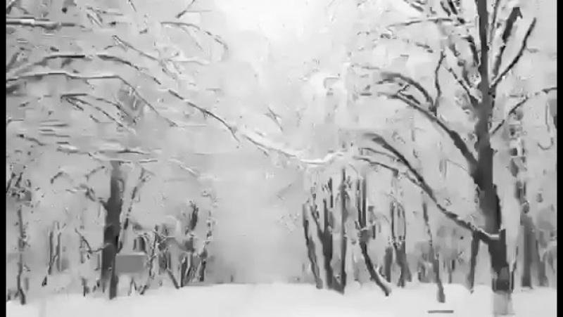 Зимняя сказка в Исмаиллы