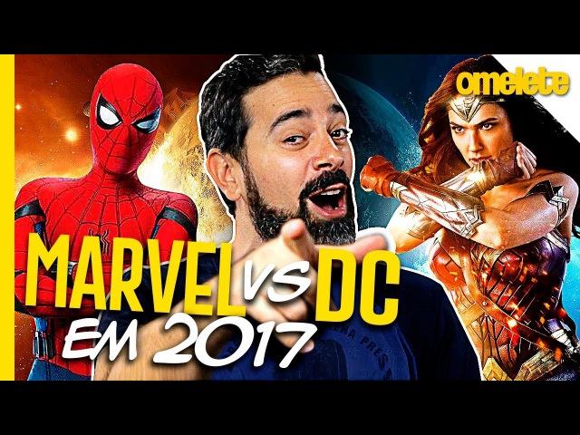 Veredito Marvel vs DC 2017 OmeleTV