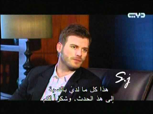 Kivanc with diala in dubai كيفانج في مشاهير من دبي 5.6.2012