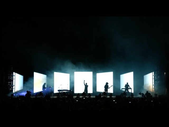 Nine Inch Nails Disappointed 2014 Live Visual Design by Rob Sheridan