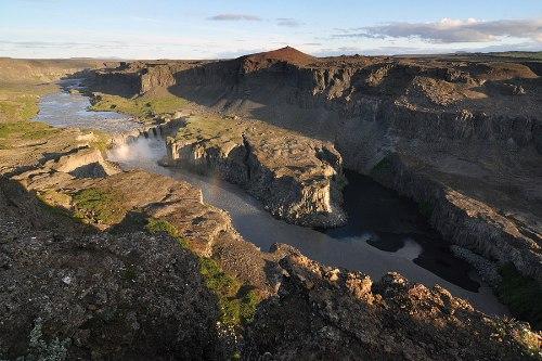Деттифосс (Dettifoss) — самый мощный водопад в Европе, изображение №10