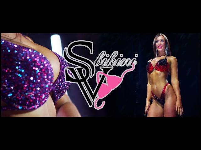 Мария Морозова и купальники для фитнес бикини от SV Bikini