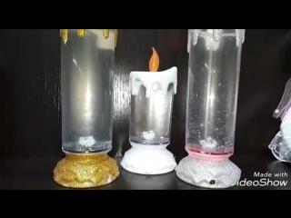 световые шары и лампады в Цацки