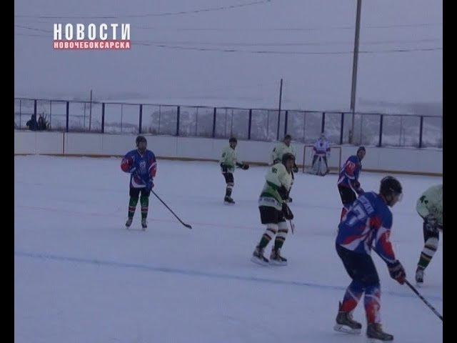 В г. Козловка прошел хоккейный матч между ХК «Титан» и ХК «Ракета» г. Волжск