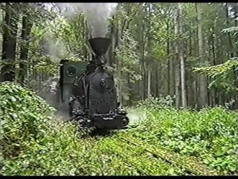 Jízda pro KŽC Mladějov na Moravě - důl Hřebeč s parní lokomotivou Krauss-Linz 7485 (Archivní video)
