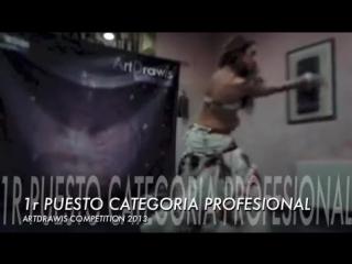 SARA RUIZ _ GANADORA PROFESIONAL _ ARTDRAWIS COMPETITION 2013. 19401
