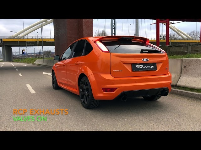 Ford Focus ST 2.5 mk2   RCP Turbo-Back Exhaust