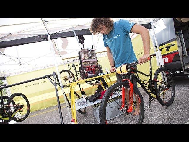How to Make an MTB Race Ready with Yanick the Mechanic