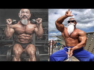 Китайский СЭНСЭЙ БОДИБИЛДИНГА - Мастер Nhon Ly - Бодибилдинг мотивация