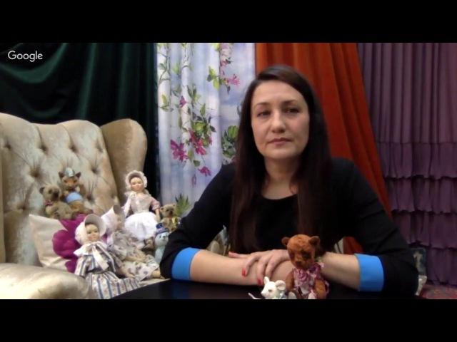 Мастер-класс -Татьяна Броницкая - Ватная игрушка Снеговик