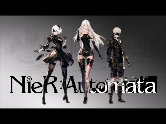 NierAutomata BGM - City Ruins (Rays of LightShade, InstrVoc Mix)