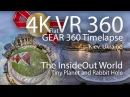 Kiev Ukraine VR 360 HDR Timelapse 4K video Inside Out Tiny Planet World Gear360