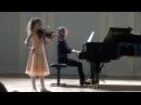 Паганини Кантабиле исполняет Стефания Поспехина скрипка партия ф но Анна Тамаркина