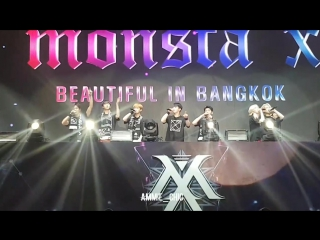 [VK][170730] MONSTA X Fancam - '5:14 (Last Page)' @ 'THE 1ST WORLD TOUR' Beautiful in Bangkok