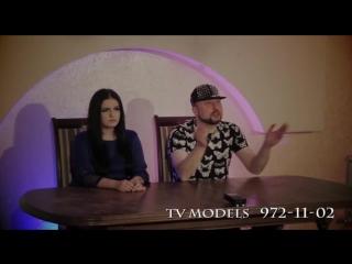"""Реалити-проект """"tv models""""  записывайся на кастинг  по телефону 972-11-02"""