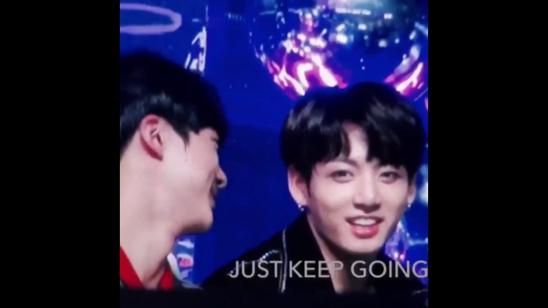 Iu my speech is getting a little long right jungkook *shaking his head* no it's alright DFJDGJ he's the biggest fanboy