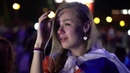 Reaction from the Fan Fest in Moscow after Russia bow out of World Cup