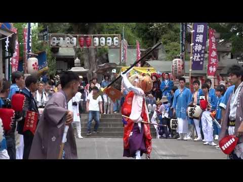 河内国魂神社 猿田彦の出発  2015年5月3日