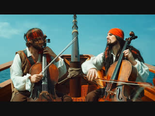Премьера клипа! 2cellos - pirates of the caribbean (пираты карибского моря)