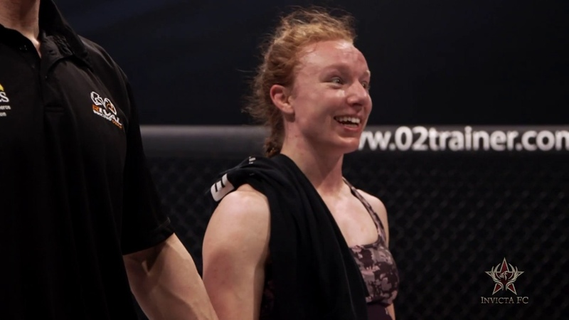 Invicta FC 34 Caitlin Sammons Post Fight Interview