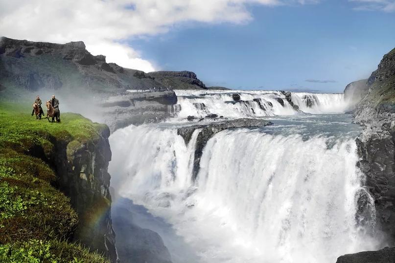 Водопад Гуллфосс