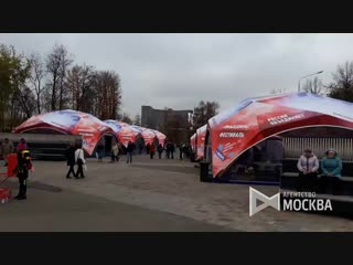 Работа площадок в рамках фестиваля Московские сезоны на ВДНХ