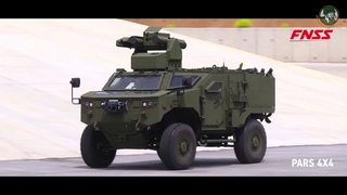 Eurosatory 2018 FNSS from Turkey launches Anti-Tank variant of its PARS 4x4 armoured vehicle