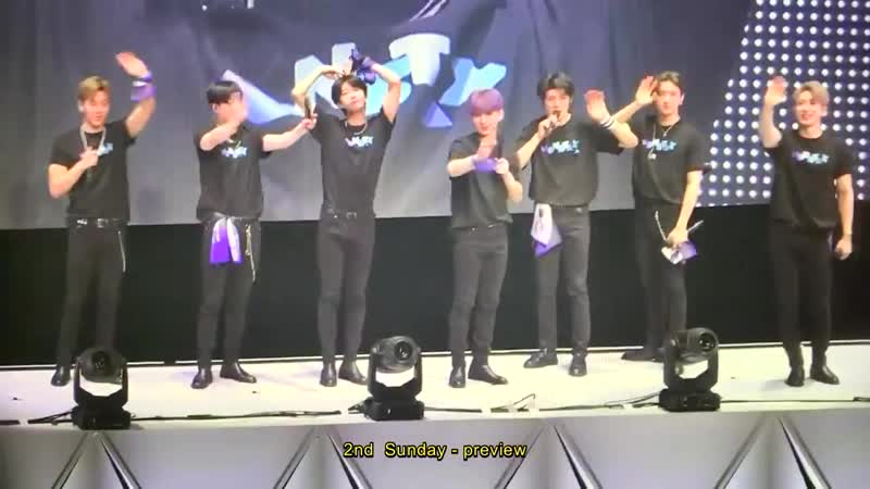 [VK][190427] MONSTA X fancam Ending @ Fan-Con PICNIC in Yokohama