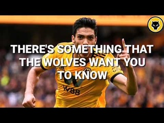*RAUL JIMENEZ WOLVES CHANT* He comes from Mexico