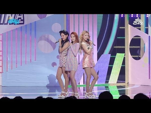 예능연구소 직캠 구구단 세미나 샘이나 @쇼 음악중심 20180714 SEMINA gugudan SEMINA in 4K