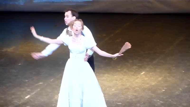 Анастасия Качалова, Александр Лукан - дуэт Мариэтты и Наполеона из оперетты И. Кальмана Баядера