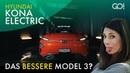 2019 Hyundai Kona Electric - besser als Tesla Model 3?   Cyndie Allemann testet