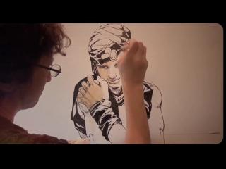 """Джоджо выставка """"ripples of adventure"""" - новые рисунки"""