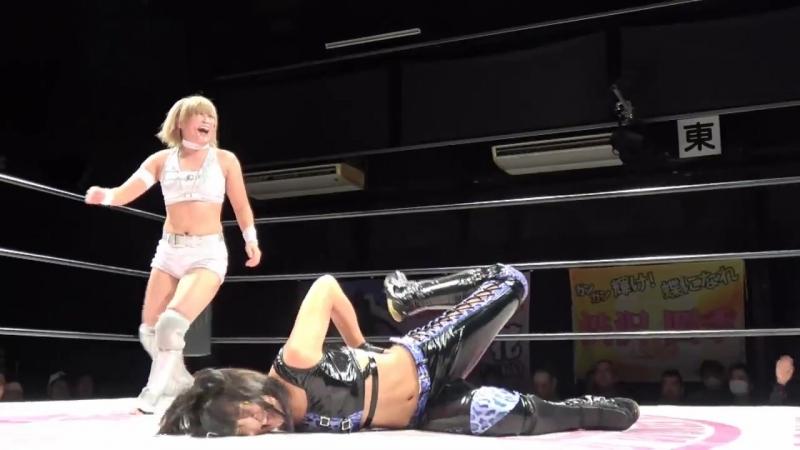 3. AZM Starlight Kid vs. Hiromi Mimura Konami