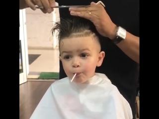 Какая стрижка для мальчика лучше