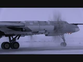 В Саратовской области прошло летно-тактическое учение с эскадрильей Ту-95МС