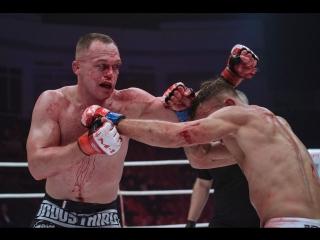 Самый кровавый бой 2018 года в M-1 / Алексей Махно - Микаэль Лебу (highlight)
