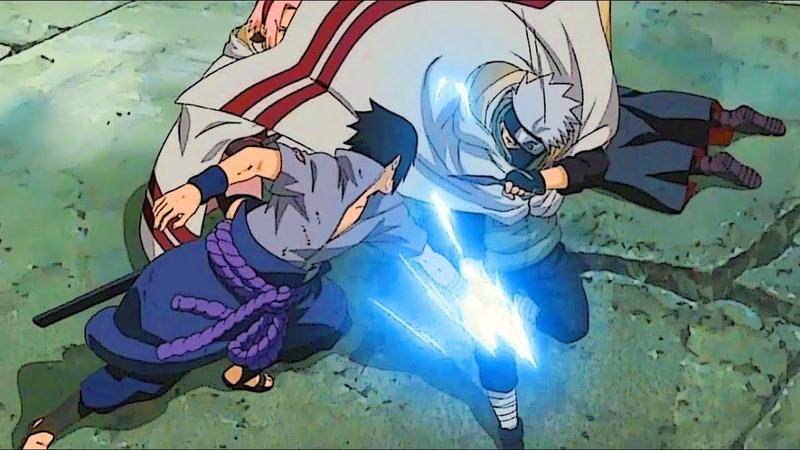 Способен ли Твой Шаринган на Такое?! Наруто Сакура и Какаши против Саске